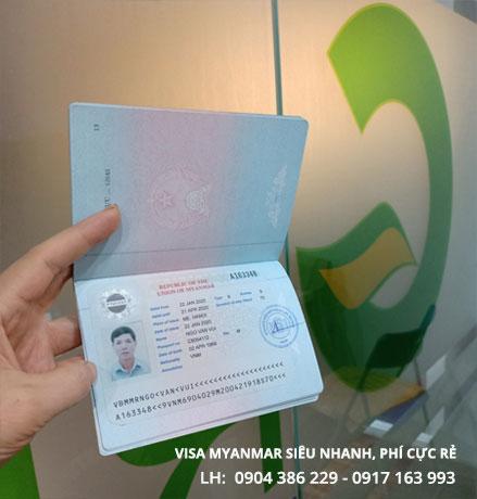 dịch vụ làm visa myanmar làm việc